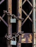 Master key locked Royalty Free Stock Images