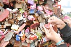 Master key of love Royalty Free Stock Photos