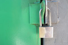 Master key for protect important room. Royalty Free Stock Photography