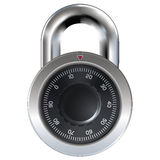 Master lock or combination lock Royalty Free Stock Image