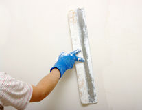 Plaster on a wall Royalty Free Stock Photo