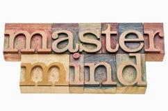 Master mind banner Stock Image