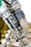 Master the repair of valves Stock Photos