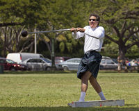 Master's Hammer Throw Stock Image