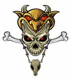 Master skull Royalty Free Stock Images