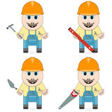 Master of the specialist in repair, building and service Royalty Free Stock Photos