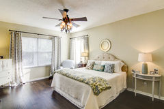 Master Suite Royalty Free Stock Photo