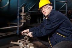 Master at work Stock Image