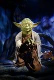 Master Yoda - Madame Tussauds London. Madame Tussauds in London - Star wars exposition stock photos