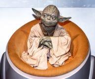 Master Yoda wax figure