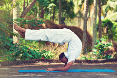 Master of yoga in india. Stock Images