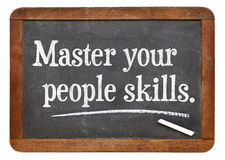 Master your people skills Stock Photos