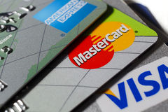 MasterCard Stockfoto