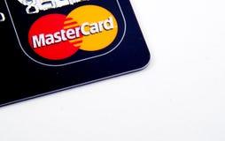 MasterCard karta debetowa fotografia stock