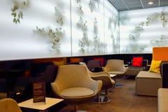MasterCard Lounge Prague Stock Photos