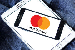 Mastercard new logo Stock Photography