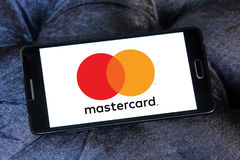 Mastercard new logo Royalty Free Stock Image