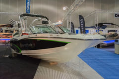 Mastercraft X20 boat on display Royalty Free Stock Images