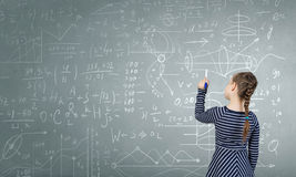 Mastering the science Stock Image