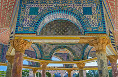 The masterpiece of Islamic art Royalty Free Stock Photography
