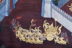 Masterpiece Ramayana painting Royalty Free Stock Photo
