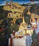 Masterpiece Ramayana painting Stock Photos