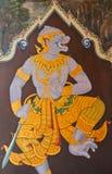 Masterpiece Ramayana painting Stock Image