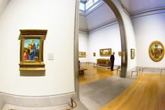 Masterpieces in National Gallery of London Royalty Free Stock Image