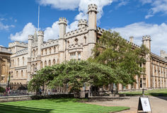 Masters Lodge Clare College Cambridge England Royalty Free Stock Images