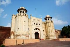 Masti bramy Lahore fort Zdjęcie Stock
