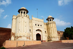 Masti Gate Lahore Fort. Lahore Fort Masti Gate a wonderful architecture in Pakistan Stock Photo