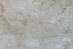 Mastic gris sur un mur Photographie stock libre de droits