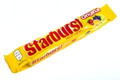 Masticazioni della frutta di Starburst Fotografia Stock Libera da Diritti