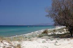 Mastichari beach Royalty Free Stock Images