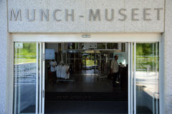 Mastichi il museo a Oslo Fotografia Stock
