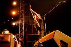 Mastodon concert Royalty Free Stock Photos