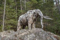 Mastodonte d'île de Bowen par l'artiste Guthrie Gloag images libres de droits