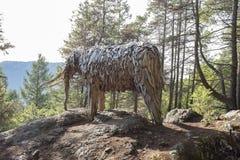 Mastodonte d'île de Bowen par l'artiste Guthrie Gloag photo libre de droits