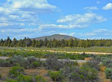 Maston View. View of Cline Butte from Maston Trailhead - near Tumalo, OR Stock Images