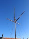 Mastro de madeira tradicional Fotografia de Stock Royalty Free