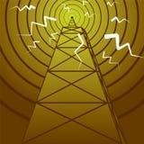 Mastro de rádio Fotos de Stock Royalty Free