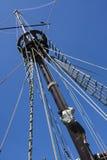Mastro de um galleon Imagens de Stock