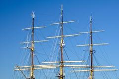Mastro de um navio Imagem de Stock