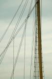 Mastro de um navio alto Fotos de Stock Royalty Free