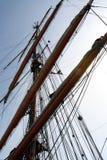 Mastro do navio Foto de Stock