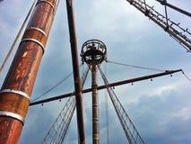 Mastro do pirata Fotos de Stock Royalty Free