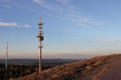 Mastro do transmissor Fotografia de Stock