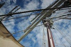 Mastro dos navios Fotos de Stock