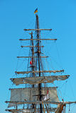 Mastro e cordas Fotografia de Stock Royalty Free