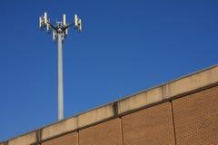 Mastro no telhado Foto de Stock Royalty Free